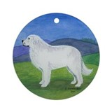 Great Pyrenese Ornament (Round)