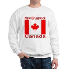 New Brunswick Flag Canada Sweatshirt