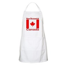 New Brunswick Flag Canada BBQ Apron