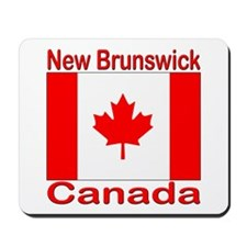 New Brunswick Flag Canada Mousepad