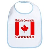British Columbia Flag Canada Bib