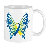 Down Syndrome Butterfly Small Mug