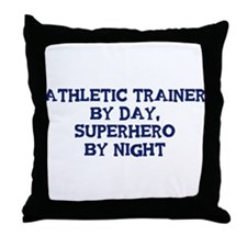 Athletic Trainer by day Throw Pillow