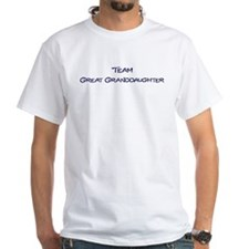 Team Great Granddaughter Shirt