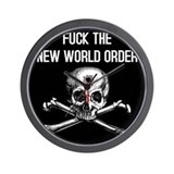 New world order Wall Clock