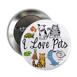 "Pet Lover 2.25"" Button (100 pack)"
