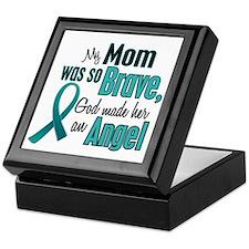 Angel 1 TEAL (Mom) Keepsake Box