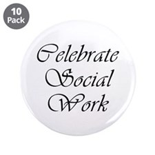 "Celebrate SW (black) 3.5"" Button (10 pack)"