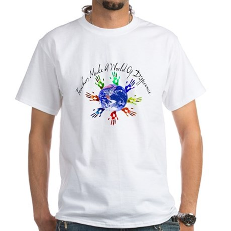World of Difference White T-Shirt