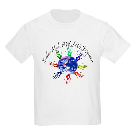 World of Difference Kids Light T-Shirt
