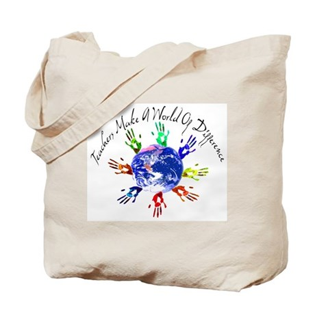World of Difference Tote Bag