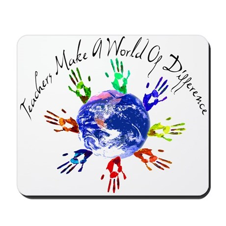 World of Difference Mousepad