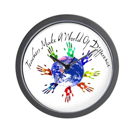 World of Difference Wall Clock