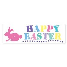 Happy Easter Bumper Bumper Sticker