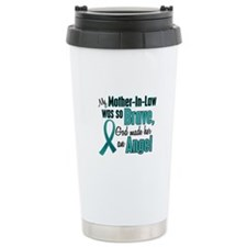 Angel 1 TEAL (Mother-In-Law) Ceramic Travel Mug