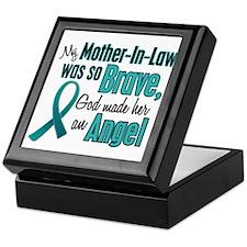 Angel 1 TEAL (Mother-In-Law) Keepsake Box