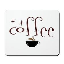 Coffee Lovers Twinkle Mousepad