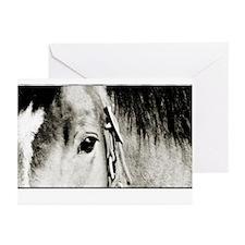 Horse Eye Art Greeting Cards (Pk of 20)