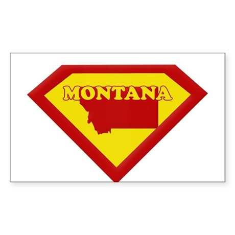 Super Star Montana Rectangle Sticker