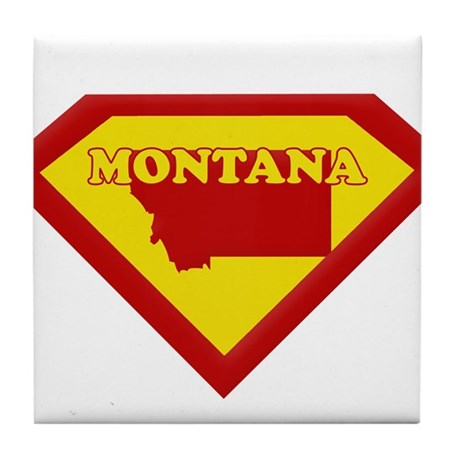 Super Star Montana Tile Coaster