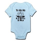 Yo Ho Ho and A Bottle Of Milk Infant Bodysuit
