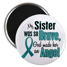 "Angel 1 TEAL (Sister) 2.25"" Magnet (10 pack)"
