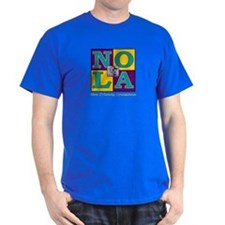 BearBlock New Orleans (Royal Court Colors) T-Shirt