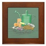 Potting Bench Framed Tile