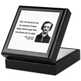 Edgar Allan Poe 3 Keepsake Box