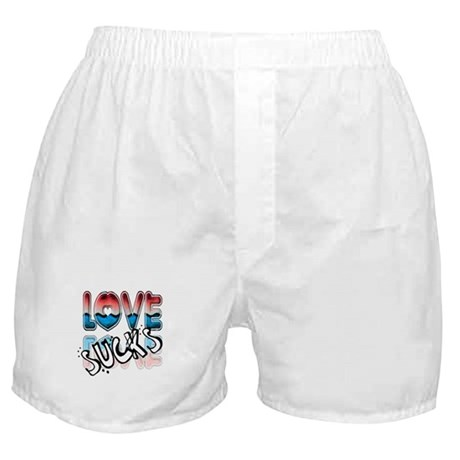 Love Sucks Boxer Shorts