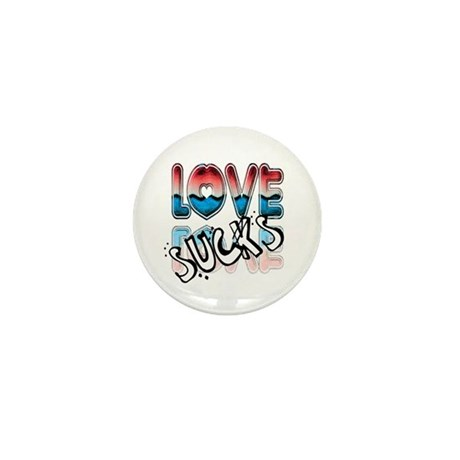 Love Sucks Mini Button
