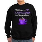 Cafe Latte Sweatshirt (dark)
