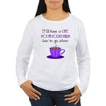 Cafe Latte Women's Long Sleeve T-Shirt