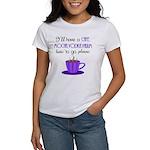 Cafe Latte Women's T-Shirt