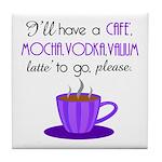 Cafe Latte Tile Coaster
