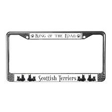 Scottish Terrier Pair License Plate Frame