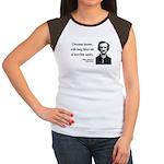 Edgar Allan Poe 7 Women's Cap Sleeve T-Shirt