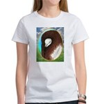 Opal Jacobin Pigeon Women's T-Shirt