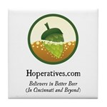 Hoperatives Tile Coaster