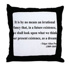 Edgar Allan Poe 4 Throw Pillow