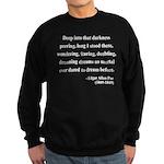 Edgar Allan Poe 5 Sweatshirt (dark)
