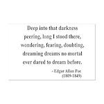 Edgar Allan Poe 5 Mini Poster Print