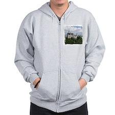 Neuschwanstein Castle Zip Hoodie
