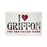 Rectangle Griffon Magnet