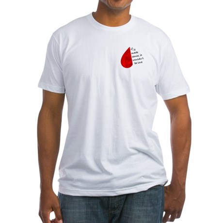 Love Sense Fitted T-Shirt