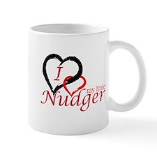 I Love My Little Nudger Mug