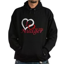 I Love My Little Nudger Hoodie