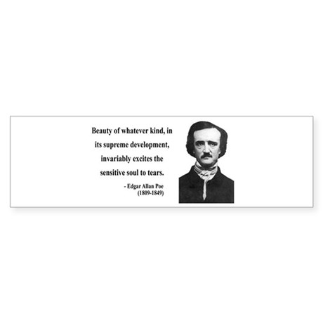 Edgar Allan Poe 11 Bumper Sticker