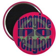 "Imagine No Religion 2.25"" Magnet (100 pack)"