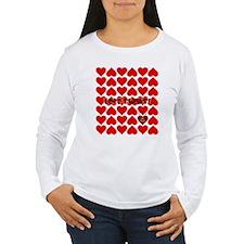 Unique Heart hearts T-Shirt